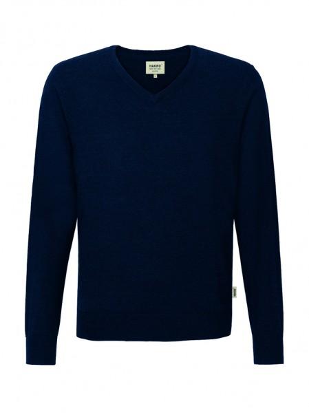 Hakro V-Pullover Merino Wool