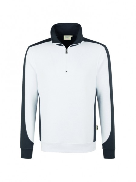 Hakro Zip-Sweatshirt Contrast Performance