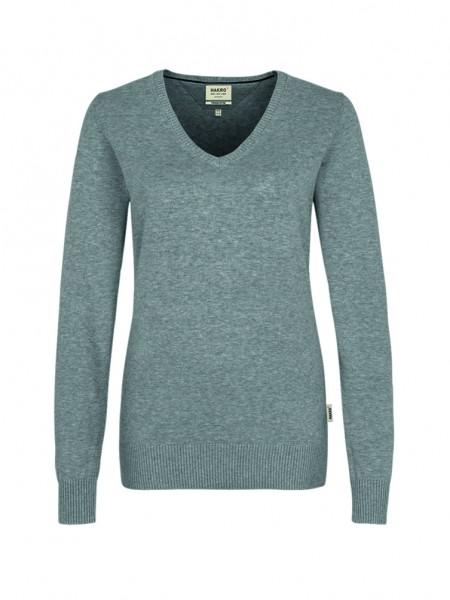 Hakro Women-V-Pullover Premium-Cotton