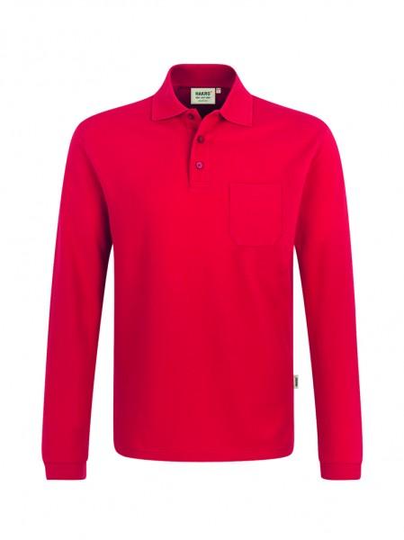 Hakro Longsleeve-Pocket-Poloshirt Top unisex